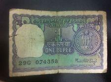 Banconota da 1 rupia indiana 1976