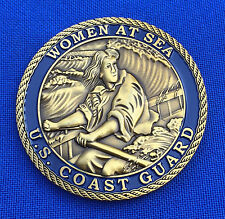 US Coast Guard Cutter Gallatin CGC Morgenthau USCG Women at Sea Challenge Coin