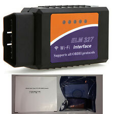 Wifi WLAN Obd2 Escáner de Código Para Iphone Ipad Ipod Itouch Diagnostic Scan Tool Reino Unido