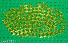 Lego Transparent Yellow Plate 1x1 100 pieces NEW!!!