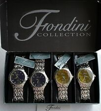 Lot of 4 Fondini Collection Mens Set **Brand New**