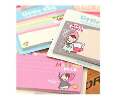 Little Talk Ver.2 PonyBrown Korean Stationery Paste Memo Flags Sticky Notes