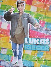 LUKAS RIEGER - A2 Poster (XL - 42x55 cm) - YouTube Star Clippings Fan Sammlung