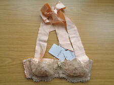 MYLA CHERIE HALTER BRA NEW WITH TAGS PEACH SIZE SMALL RRP £110 - STOCK CLEARANCE