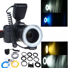 Neewer RF-550D LED Macro Ring Flash Light for Nikon Canon Olympus DSLR Camera