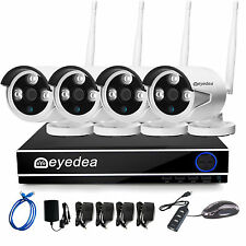 WiFi Wireless HD 1080P NVR  IP 5500TVL Camera Night Vision CCTV Security System