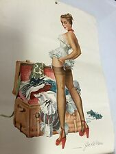 "1948 Sexy Girls Calendar ""Esquire Glamour Gallery"" Hot Stuff! Look"