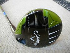 Callaway RAZR FIT XTREME 15* 3 fairway wood Graphite Aldila Trinity Stiff flex