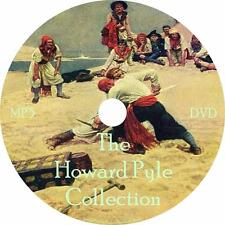 Howard Pyle Audiobook Collection in English Unabridged on 1 MP3 DVD Free Ship