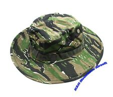 US ARMY Camo Military Boonie Hat / Tiger Woodland (KHM Airsoft)