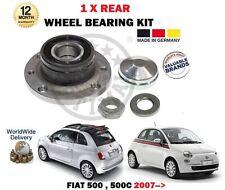 PER FIAT 500 + 500C 2007 > 1 X KIT CUSCINETTI RUOTA POSTERIORE CON SENSORE RING