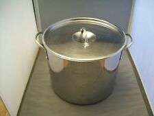 12 Quart Stainless Steel Boil/Canning/Stew Pot With Lid