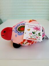 "KIM PARKER KIDS Trey The Turtle Counting In The Garden 8"" Plush Toy"
