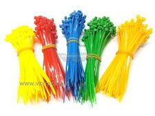 500 FASCETTE CABLAGGIO PLASTICA NYLON COLORATE CABLE TIES 500PZ 100mm VRX