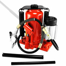 20 Ton Air / Manual Pneumatic Hydraulic Bottle Jack Lift Repair Tool