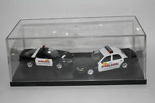ROAD CHAMPS POLICE, CITY OF PRATTVILLE POLICE DEPT. CAMARO & FORD CRUISERS, 1:43