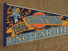 1992 UNC University North Carolina NCAA Basketball Champions Full Size Pennant