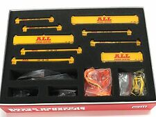 "121 pc Crane Rigging & Lifting Kit w/ Spreader Beams - ""ALL CRANE"" Yellow - 1/50"