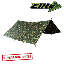 Elite Evolution Military Basha 3 x 3m British DPM Shelter Waterproof Army Tent