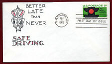 1272 - Traffic Safety -  First Day cover -- Virgil Crow cachet