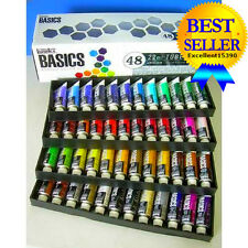 Set Paint Tube Basics Liquitex Acrylic 48Piece 48 Piece New Art Painting Color