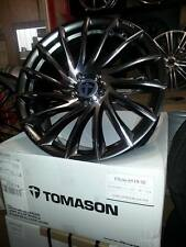 "20"" Zoll Tomason TN16 Alufelgen in 8,5x20 Dark Hyperblack polished 5x120"