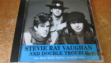 Stevie Ray Vaughan And Double Trouble, One Hour Radio Special; PR-Only CD