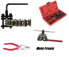 Tusk Chain Press Breaker Riveting & Master Link Pliers Tool Kit ATV Motorcycle