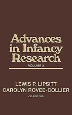 Advances in Infancy Research, Volume 3: (Advances in Infancy Research)