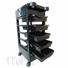 Salon Hairdresser Trolley Barber Beauty Storage Hair Drawers Spa Colouring Cart