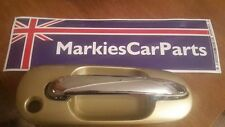 MG ROVER 45 DOOR HANDLE GOLD & CHROME HANDLE FRONT RIGHT DRIVER NEW CXB102920LZW