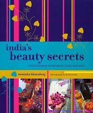 India's Beauty Secrets, Monisha Bharadwaj, Very Good, Paperback