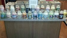 (6) YANKEE CANDLE LARGE 22OZ JARS! YOU PICK SIX FROM OVER 150 SCENTS BELOW~!!!!