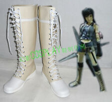 Final Fantasy Yuffie Kisaragi Halloween Long Cosplay Shoes Boots H016