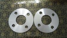 Two WHEEL HUBCENTRIC SPACERS 4X100MM | 5MM THICK | 56.1MM CB