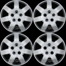 "4 New 06-15 Honda Civic 16"" Bolt on Hub Caps Full Wheel Covers fit Steel Wheels"