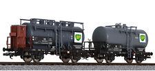 HS Liliput L230139 Zweiteiliges Kesselwagen-Set BP Deutschen Bundesbahn (DB)