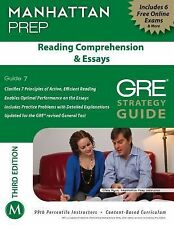Manhattan Prep GRE Strategy Guides: Reading Comprehension and Essays GRE...