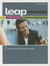 LEAP (Learning English for Academic Purposes) Advanced, Reading and Writing w/ M
