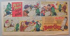 Ben-Gay Ad: Peter Pain: Blocks a Kick! 7.5 x 14 inches
