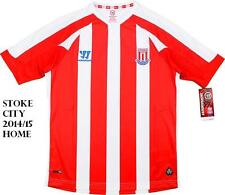 STOKE CITY 2014/15 HOME SHIRT 34/36 INCHES XLARGE BOYS TAGS/PACKET