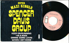 "SPENCER DAVIS GROUP EP 7"" BELGIUM I'M A MAN"
