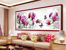 5D Diamond Magnolia Flower Embroidery Painting DIY Stitch Craft Kit Home Decor