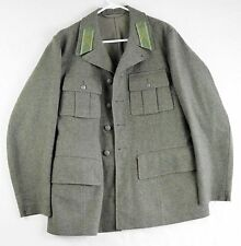 RARE Swedish Home Guard Military Uniform Jacket 1945 Wool Three Crowns Sm Mens