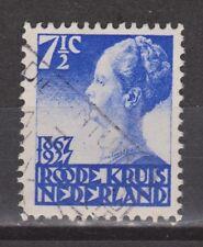 NVPH Netherlands Nederland nr. 206 used Rode Kruis 1927 Pays Bas