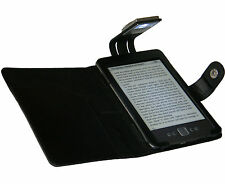 Luz Y Funda Negra Para Nuevo Amazon Kindle 4 con LED Lámpara de lectura nocturna