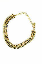 ELEGANT LADIES GOLD MULTI LAYER BRACELET UNIQUE STUNNING BRAND NEW (A23)