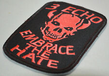 ELITE PROFESSIONALS NINJA NETWORK SEAL TEAM 3 ST3  E (ECHO) PLATOON Velcro RED