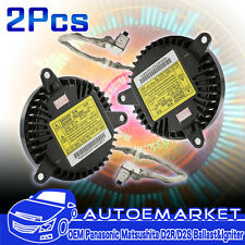 PAIR 12V 35W OEM Xenon D1S D1R HID Bulb Ballast Control Unit Computer with Cable