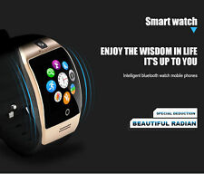 Q18 SIM TF Card Bluetooth Smart Watch Camera For Android Samsung iPhone Golden